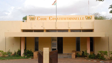Cour constitutionnelle Niger