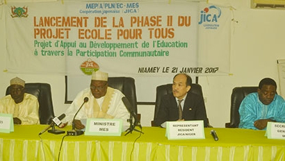 EPT JICA Education Niger