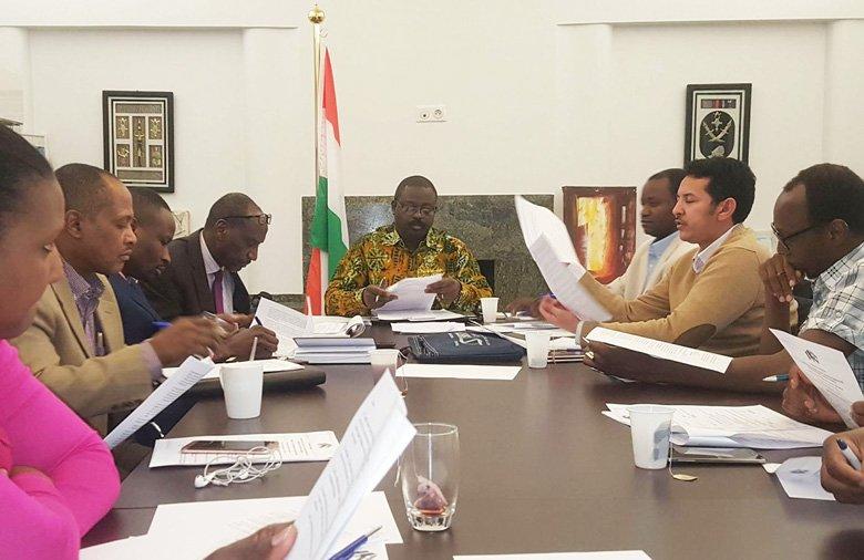 Communiqué N°013/05/2018 du Comité de mise en place du Haut Conseil des Nigériens de l'Extérieur (HCNE)-Section de Belgique