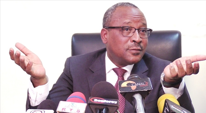 Hassoumi point de presse Niger