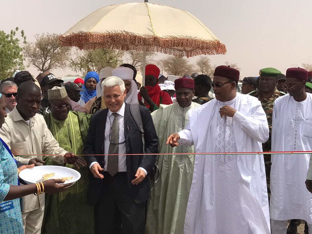 Issoufou Inauguration ZinderMagaria Frontiere Nigeria