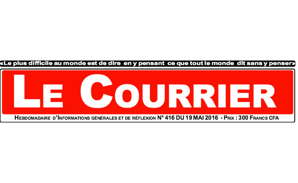 Journal Courrier Ali Soumana