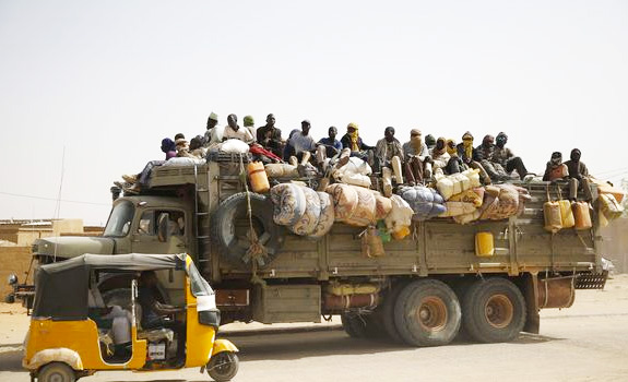 Migrants Agadez Camp 1