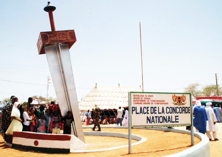 Place de la concorde nationale Niger 02