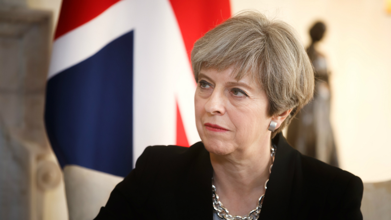 Theresa May Ambassade UK NIGER