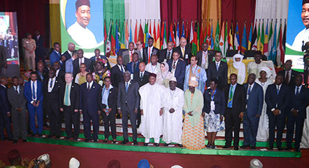 photo de famille 4eme Reunion des ministres africains du Commerce Niamey 2017