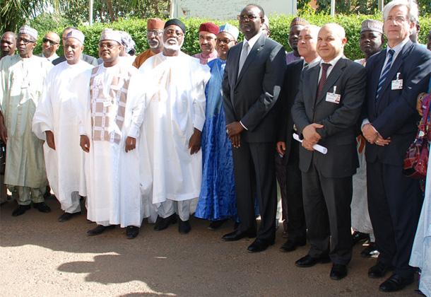 Photo de famille des membres du dialogue Politique Inter-Nigérien.