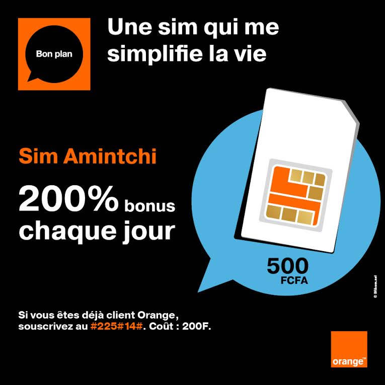 Orange Campagne Sim Amintchi