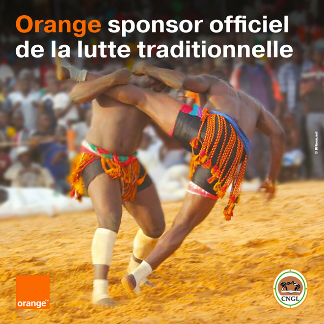 Orange Lutte Traditionnelle Niger 2017
